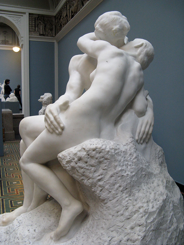 August Rodin's The Kiss, 1882