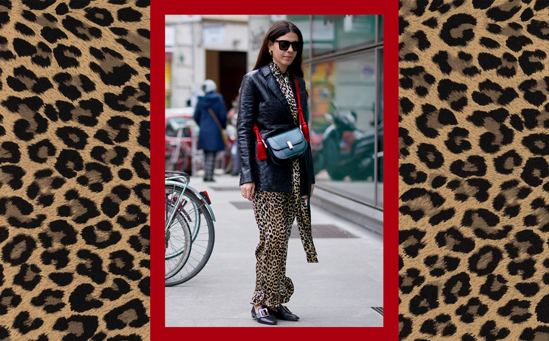 Forget the trashy connotations, animal-print dresses get the fashion pack's stamp of approval this season