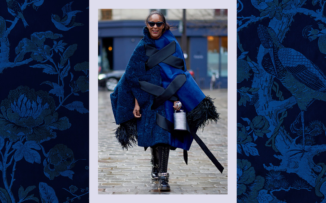 For Autumn Winter 2018, blanket-like capes are a key outerwear staple