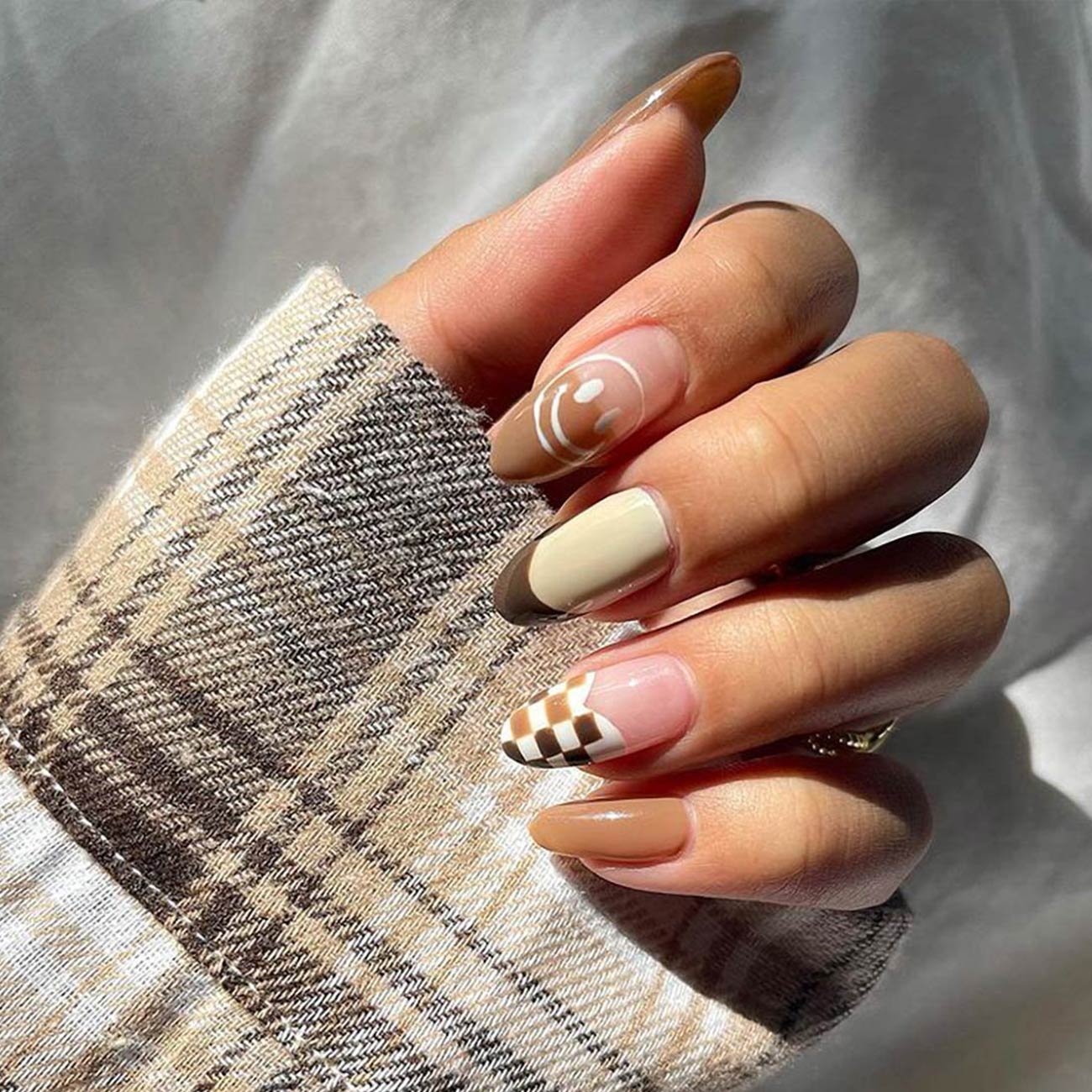 Autumn nail art inspiration available at Pacific Place