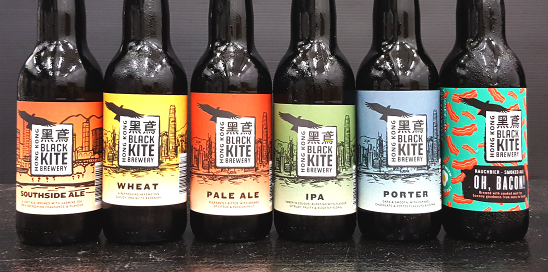 Black Kite Brewery is one of a new generation of craft brewers in Hong Kong