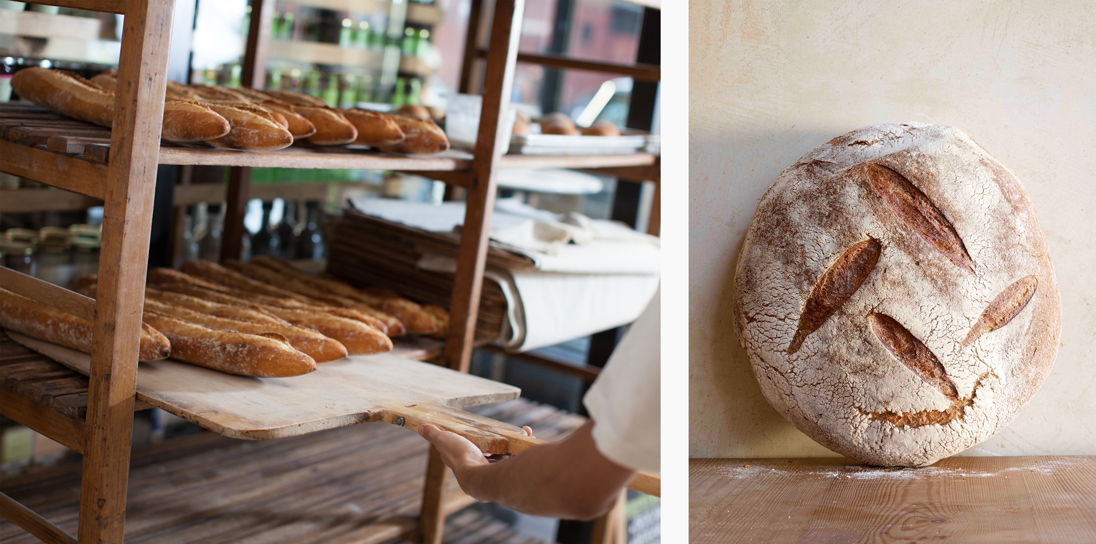 Le Pain Quotidien hand-crafts all of its breads from its own 'mother sourdough'