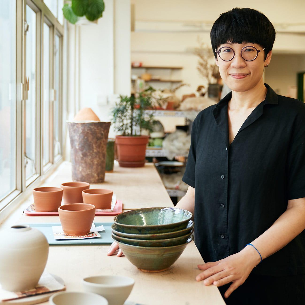 LUMP Studio owner Liz Lau