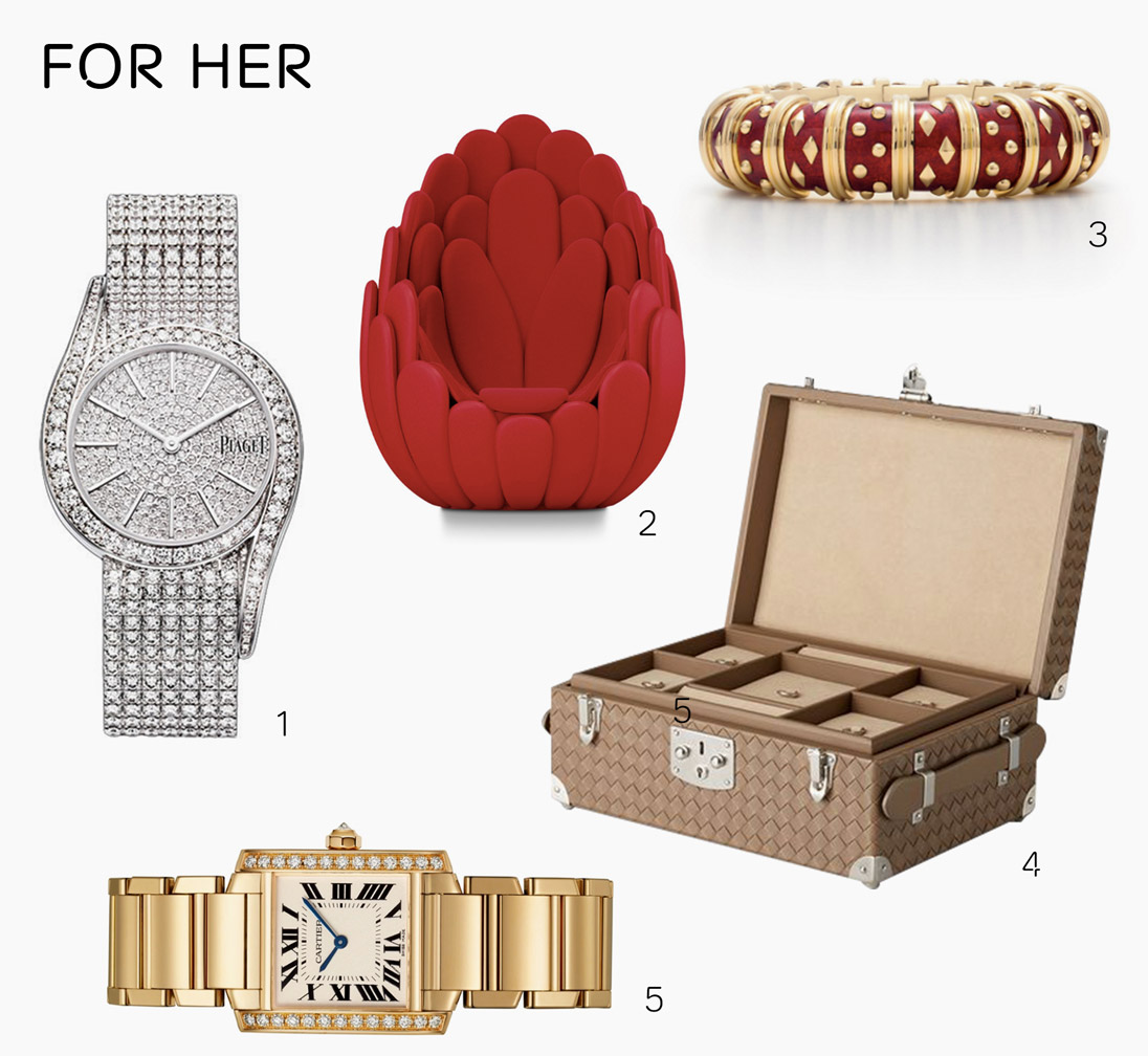 Lavish Valentine's Day gifts for him and her