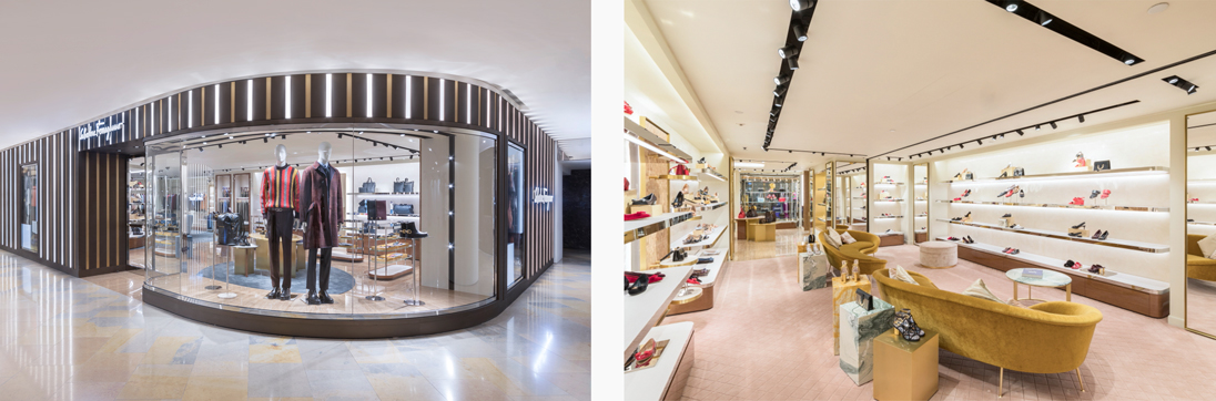 Iconic brand Salvatore Ferragamo has reopened its Pacific Place store