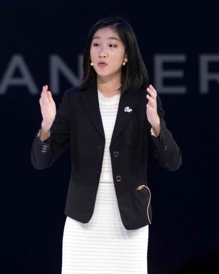 15-year-old CEO Hillary Yip. Image courtesy of Hillary Yip