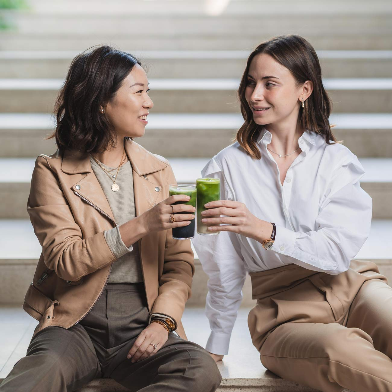 Matchali founders Cara and Laura Li