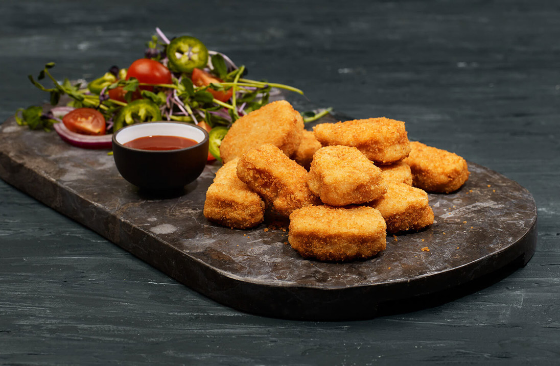 Alpha Foods meatless chicken nuggets