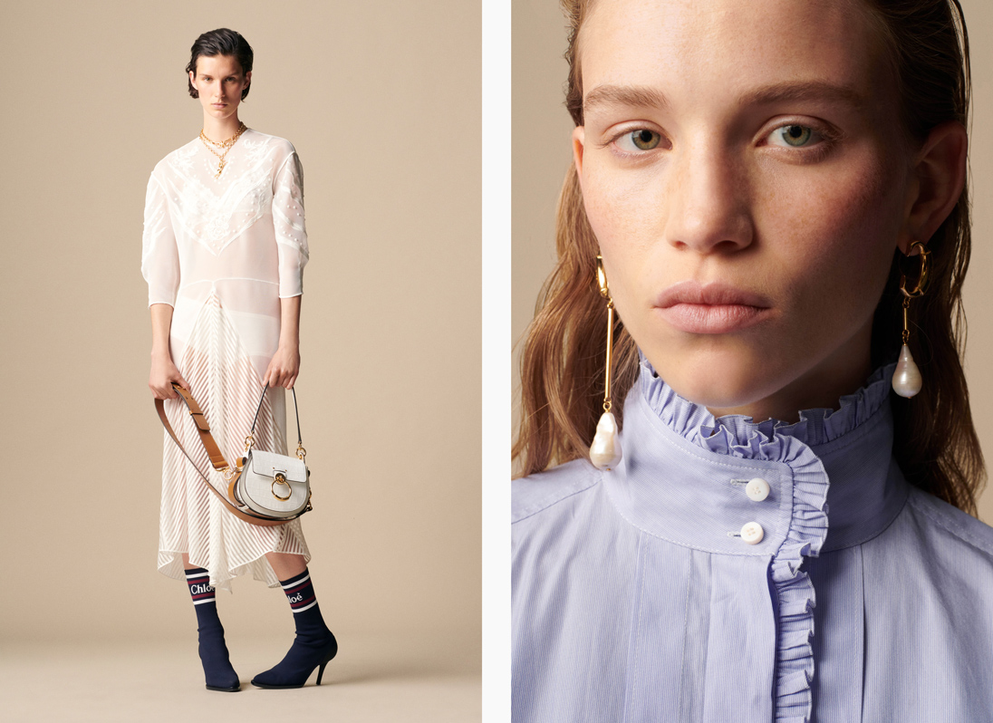 Natacha Ramsay-Levi's latest collection for Chloé presented prairie-inspired looks