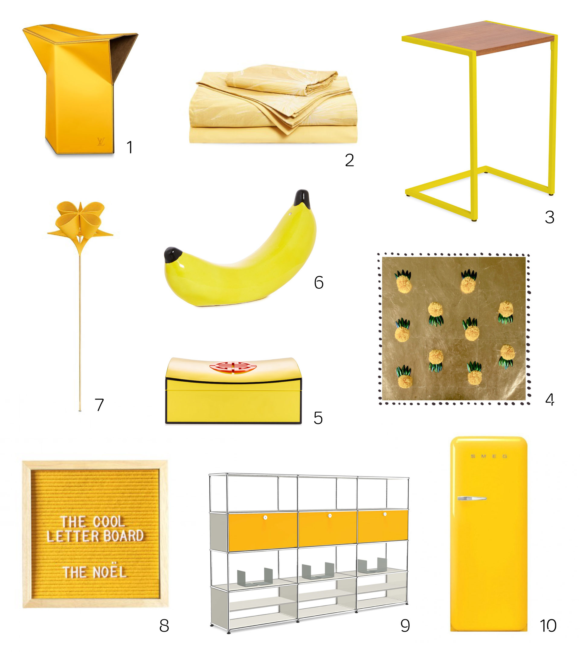 Inject fashion's biggest colour trend – yellow – into your home