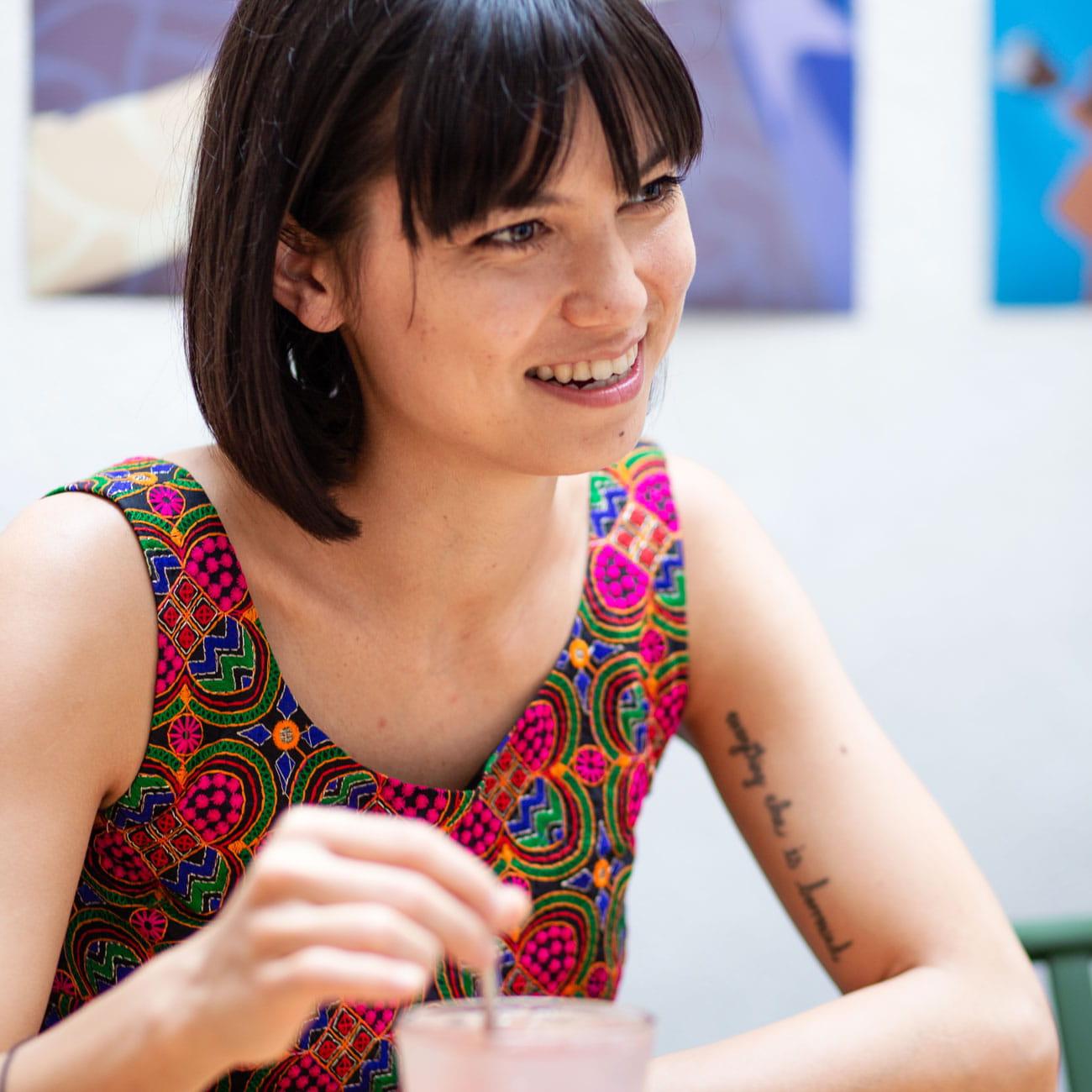 Hong Kong artist Laura Zhang