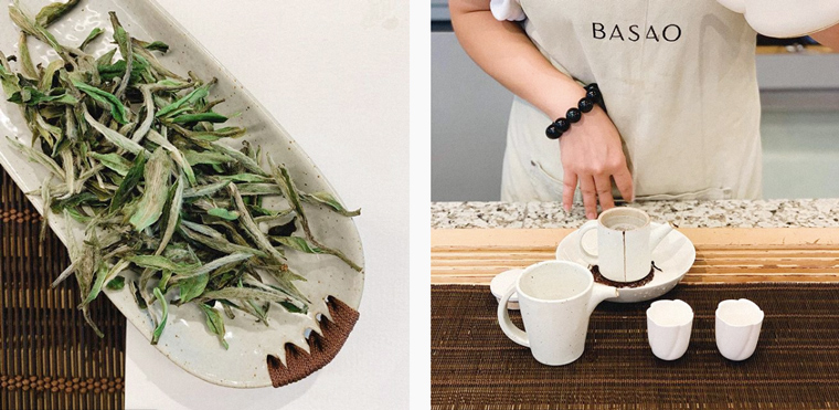 BASAO tea bar champions the best, clean sources of tea from around Asia