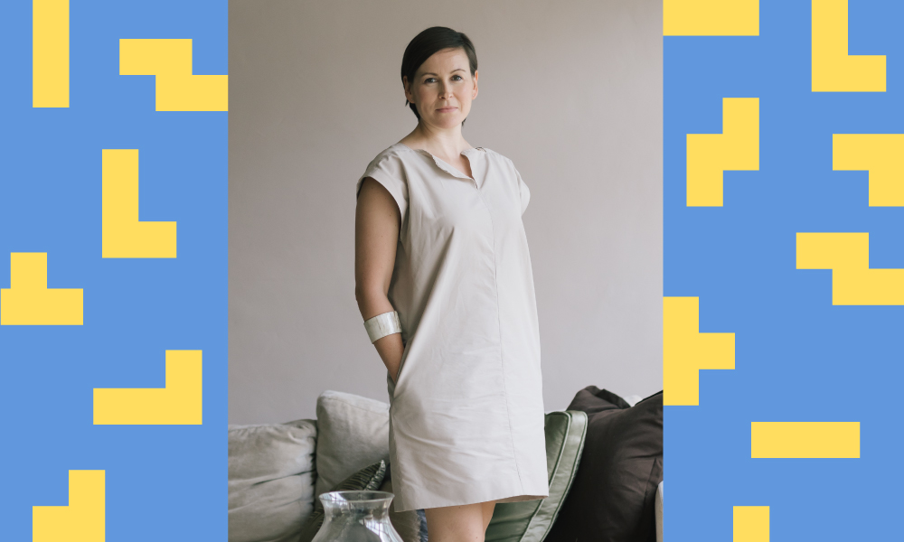 Suzy Annetta, co-founder & editor-in-chief of Design Anthology magazine