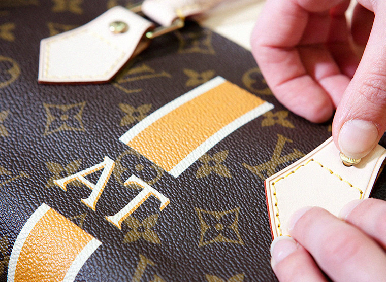 A hallmark of the brand's history, personalisation services at Louis Vuitton are among the best