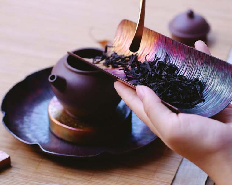 Tea ceremonies can help achieve peace of mind