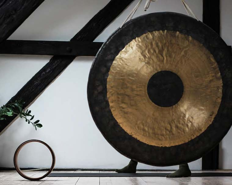 Gong baths are a form of sound meditation that can help relieve stress and anxiety