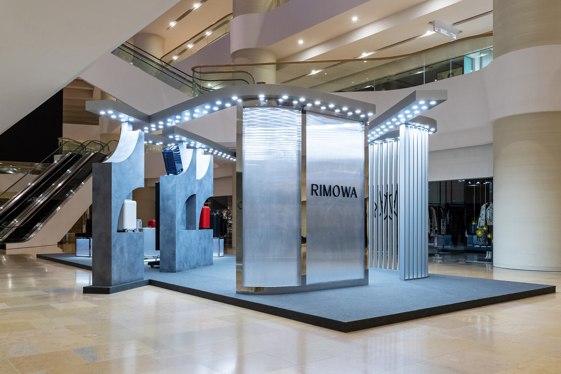 Shoppers can experience an exclusive interactive showcase at RIMOWA's Pacific Place store to celebrate the brand's 120th anniversary