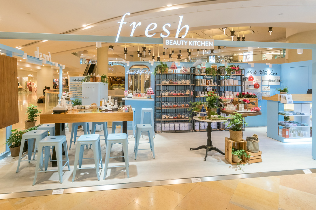 Discover your personalised skincare ritual with Fresh's pop-up beauty kitchen at Pacific Place