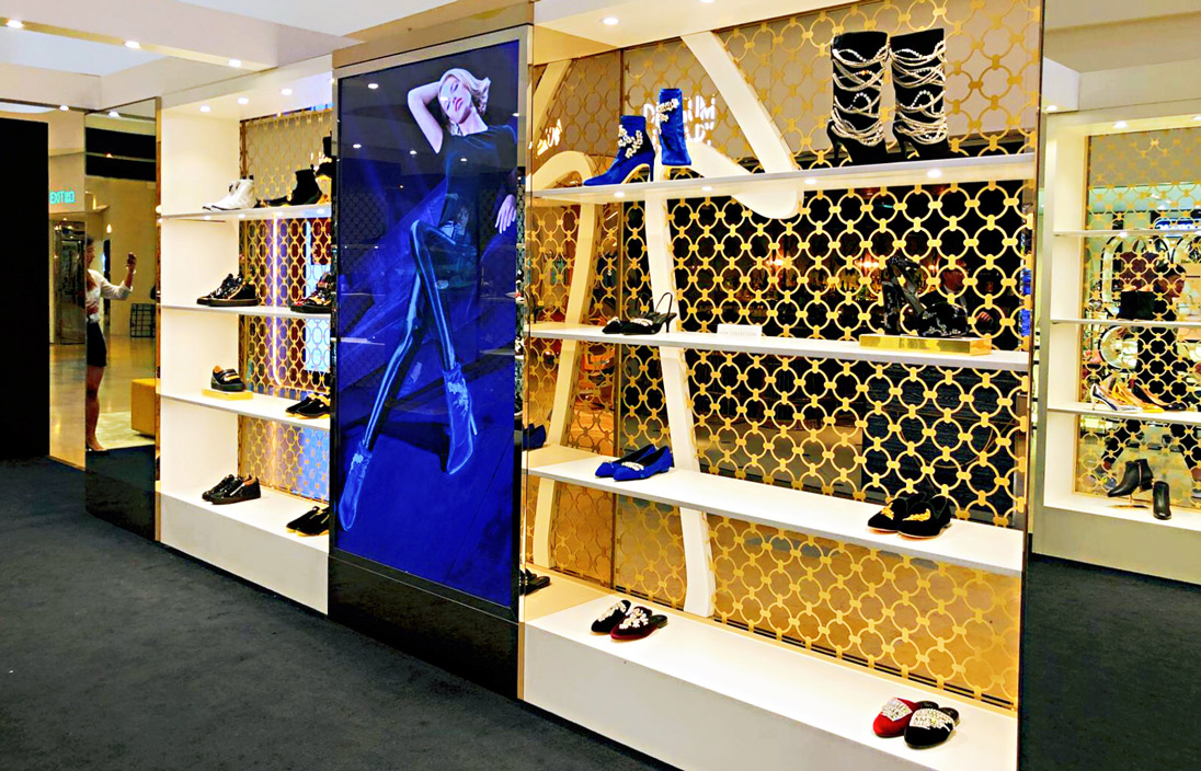 Italian footwear heavyweight Giuseppe Zanotti has brought his statement-making heels and souped-up sneakers to Pacific Place