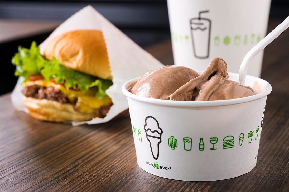 Shake Shack's newest home is at Shop 105A, L1, Pacific Place