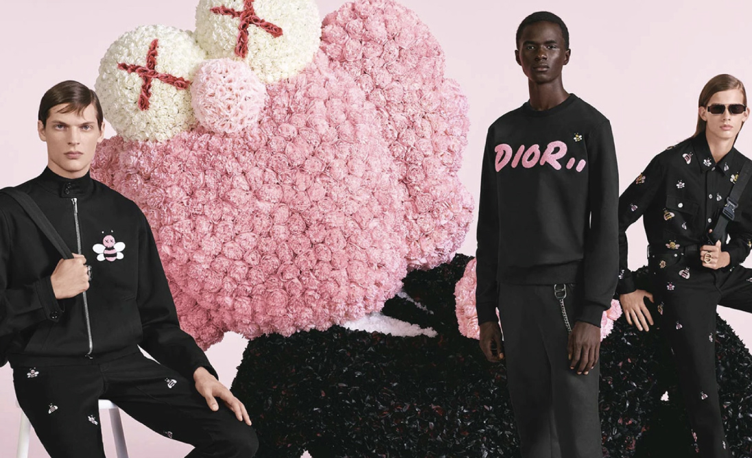 Dior's art-fashion looks